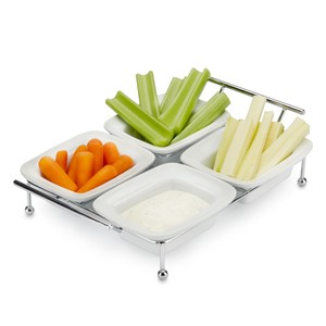 Picture of Serving Tray for Parties - 4 Tray Serving Platter